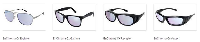 Enchroma frames