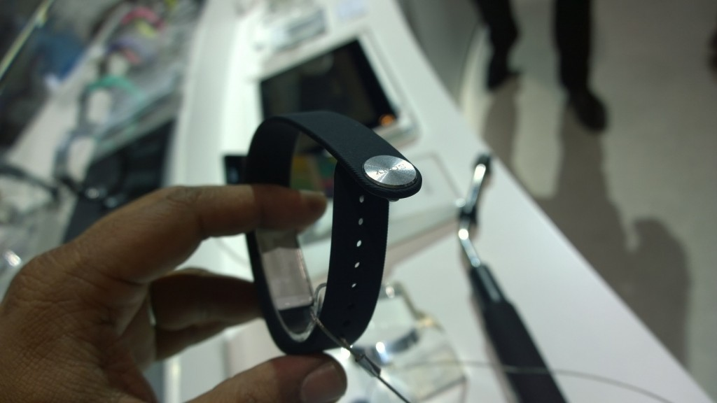 Sony Smartband Rear View
