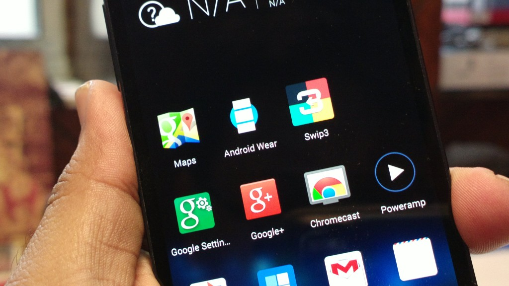 Andoid Wear App on Phone