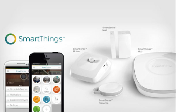 Manage connected devices in your home with SmartThings Routines for Good Morning, Goodbye, Good Night, and more. Control connected devices in your home with voice commands using SmartThings and Amazon Alexa or Google Home. Requires the free SmartThings app for Android ( or later) or iPhone (iOS or later). US Only.