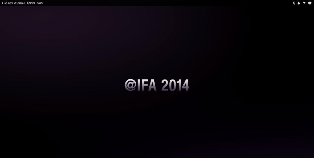 LG G Watch 2 At IFA 2014