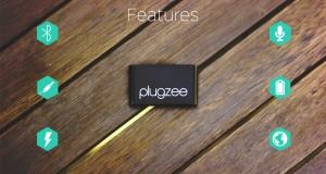Plugzee Bluetooth Adpter Battery Speaker
