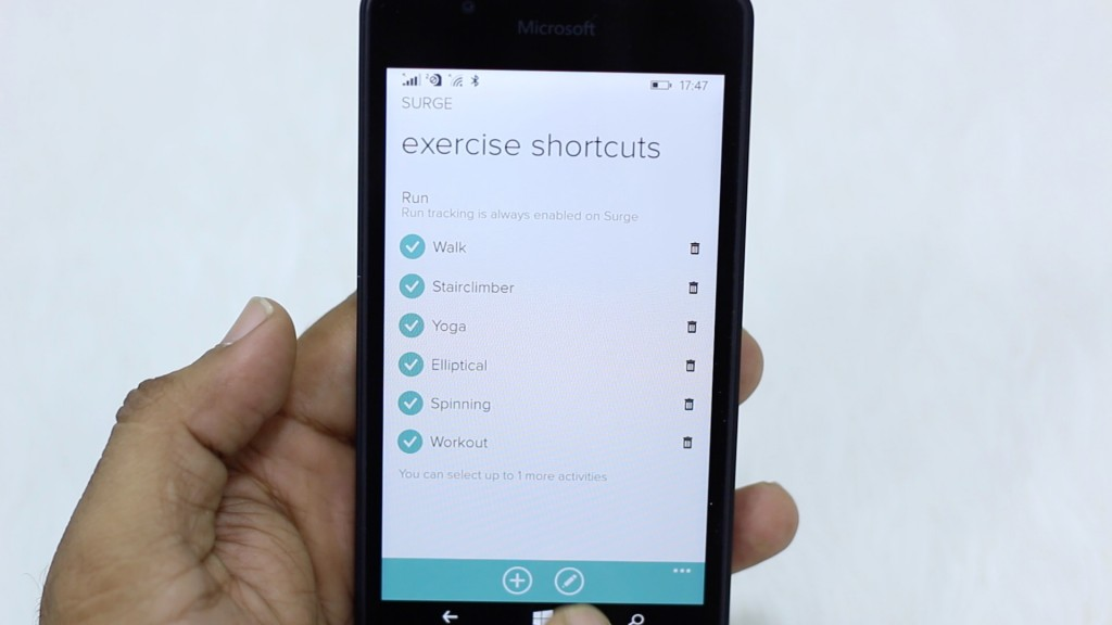 Fitbit Surge Review Exercises