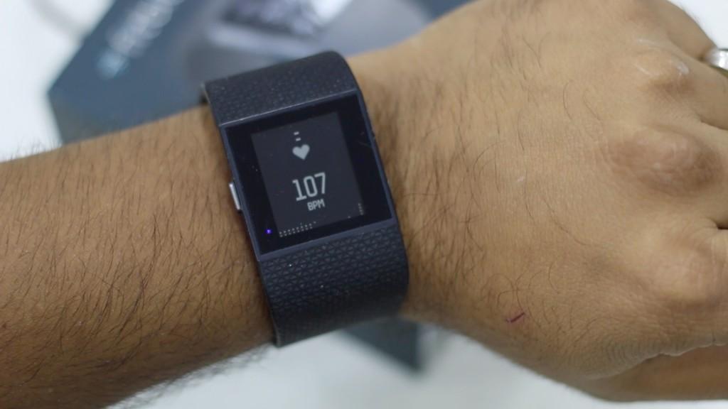 Fitbit Surge Review Live HRM