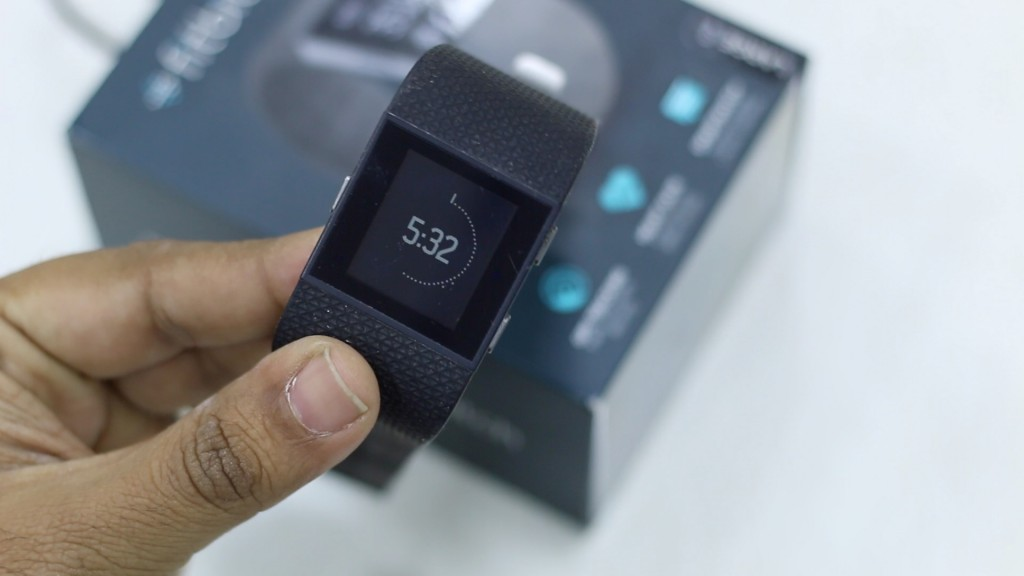 Fitbit Surge Review Watch Face