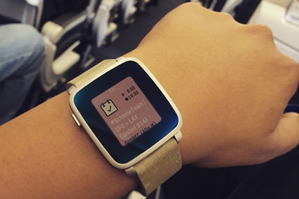 Pebble Time Flight Details