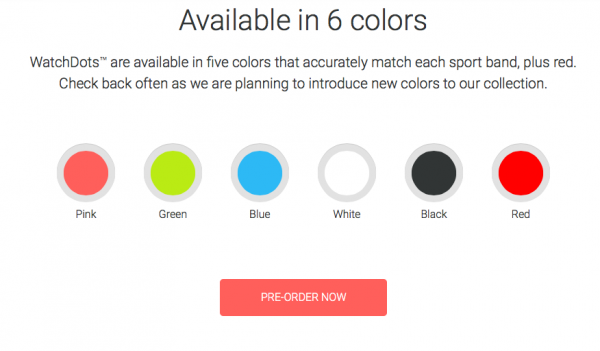 Watch Dots Colors