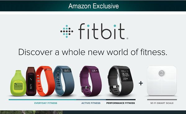 Amazon Exclsuive Fitbit