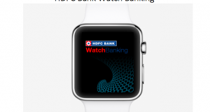 Apple Watch App for HDFC