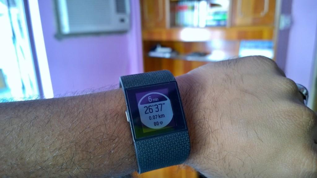 Fitbit Surge Run Cue