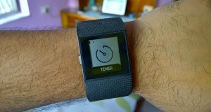 Fitbit Surge Timer